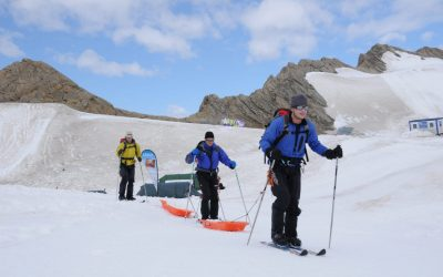 Testing The Ski Guidance Systems